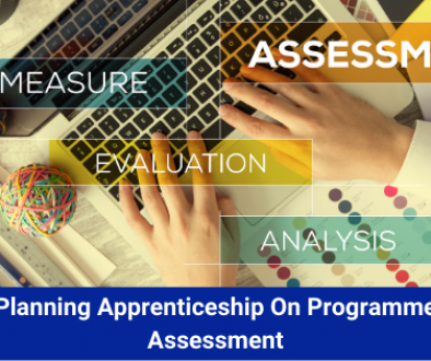 Planning Apprenticeship On Programme Assessment
